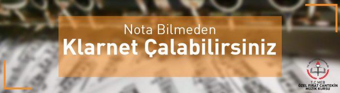 klarnet çalmak için nota bilmek gerekli mi