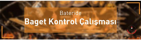 bateride baget kontrol çalışması